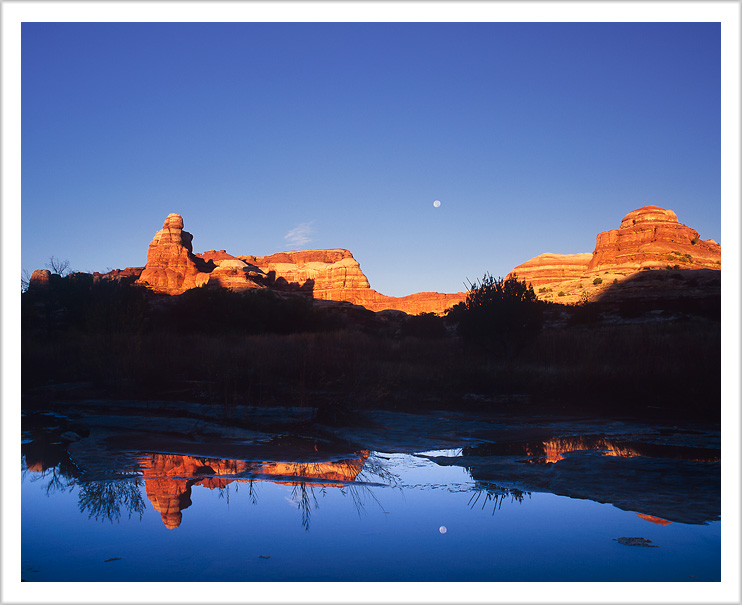 Full Moon over Water Canyon